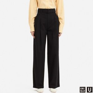 Uniqlo high wast wide pants. Size small